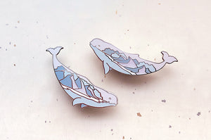 Kissing Beluga Whales (Arctic Vistas) Pin Set
