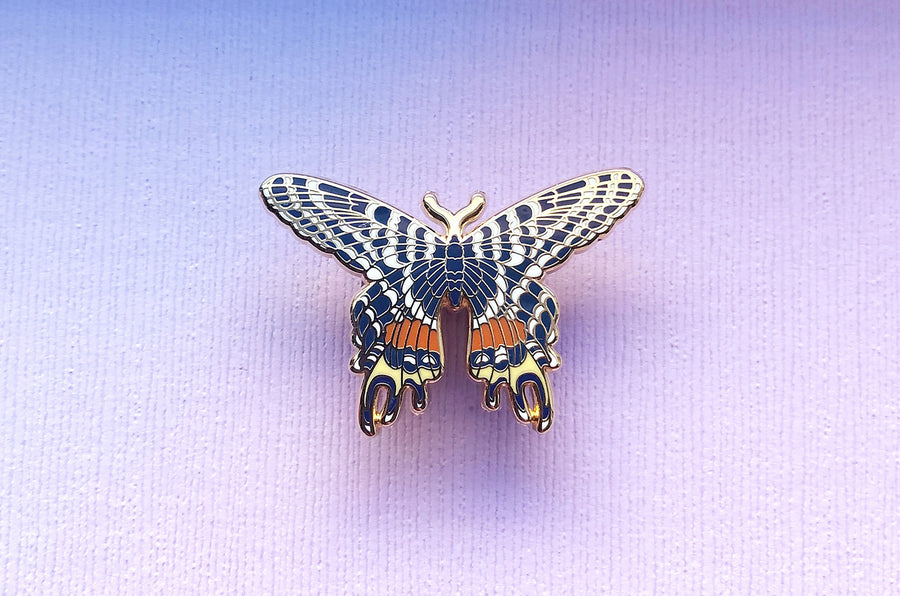 Bhutan Glory Butterfly Oopsie Pin (Seconds)