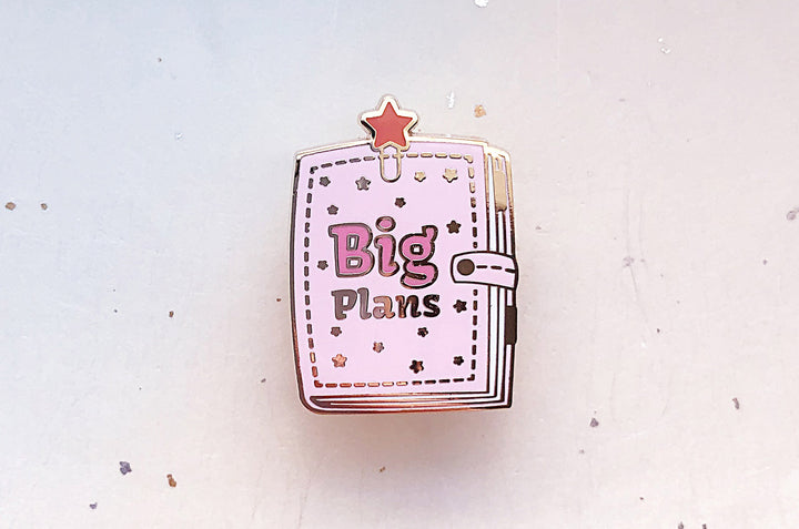 Big Plans Star Planner Enamel Pin
