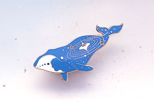 Quasar Bowhead Whale (World Eater) Pin