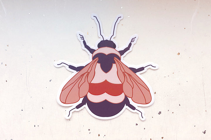 Rusty Patched Bumblebee Vinyl Sticker