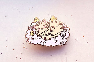 Cat Dreams Enamel Pin