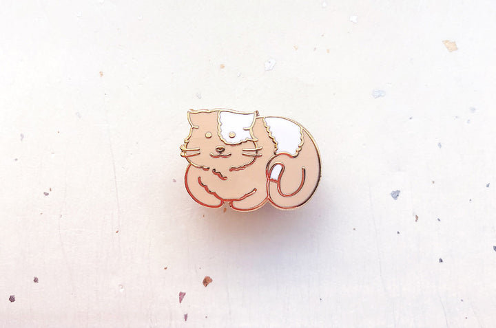 Cat Loaf Pin
