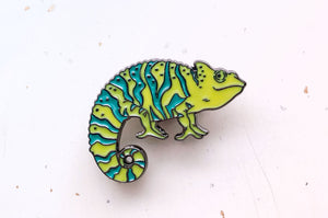 Chameleon Color Changing Enamel Pin