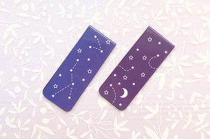 Constellations and Shooting Stars Magnetic Bookmarks