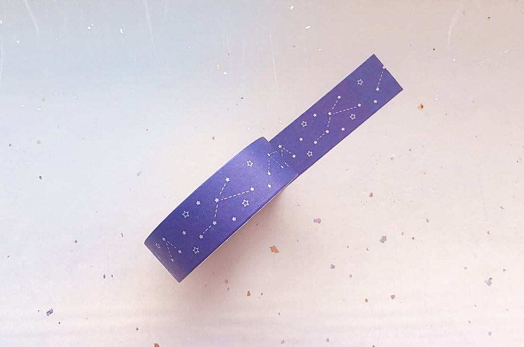 Constellations and Stars Washi Tape