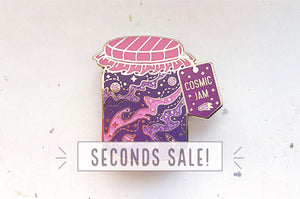 Cosmic Jam Enamel Pin (Seconds)