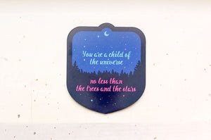 Child of the Universe Magnet