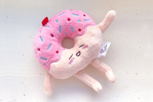 Donut Stuffed Toy Charm