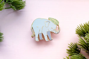 Baby Asian Elephant Pin