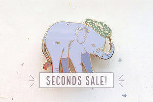 Baby Elephant Pin (Seconds)