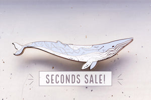 Constellation Fin Whale Pin (Seconds)
