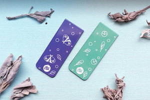 Feather and Moth Magnetic Bookmarks