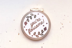 You're Flossome Needle Minder