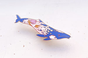 Sunrise Gray Whale (The Radiant Sky) Pin