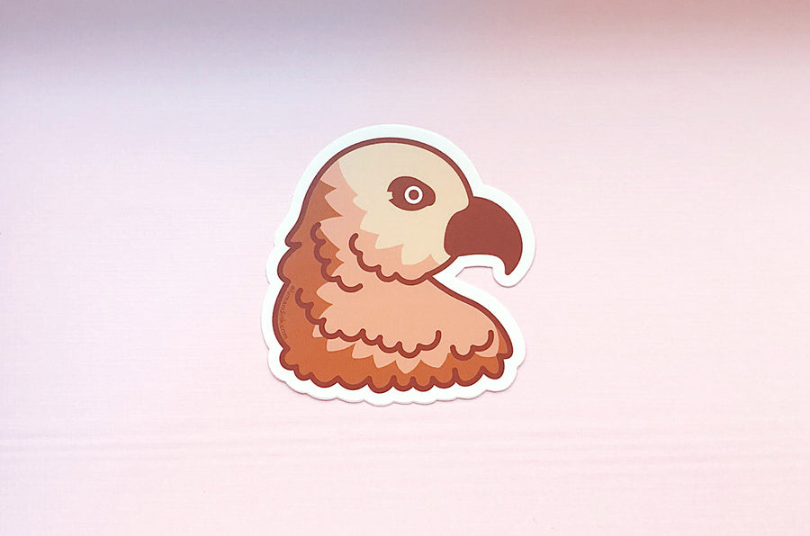 Hawk Profile Vinyl Sticker