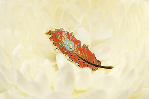 Phoenix Feather Pin