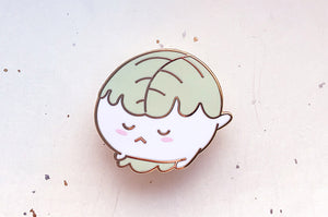 Oak Leaf Mochi Enamel Pin
