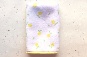 Lemon and Leaf Handkerchief