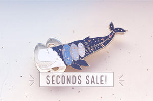 Livyatan Whale (Ancient Stars) Pin (Seconds)