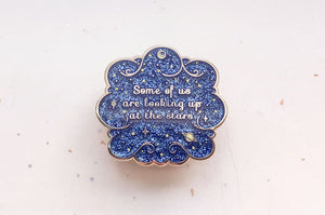 Looking Up at the Stars Enamel Pin