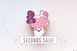 Dizzy Magical Mushroom Pin (Seconds)
