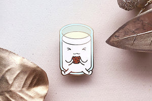 Milk and Cookie Pin