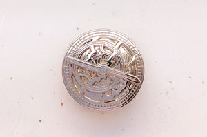 Mini Astrolabe Gold Pin