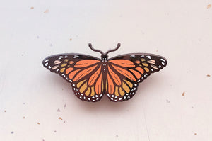 Monarch Butterfly (Danaus plexippus) Enamel Pin