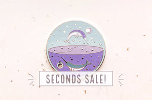 Planet Narwhal Needle Minder (SECONDS)