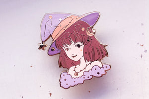 November Witch Topaz Enamel Pin