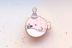 Party Puffer Enamel Pin