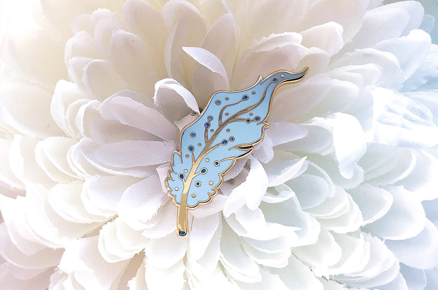 Pegasus Feather Pin