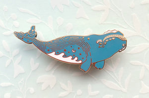 Star Trails Right Whale (Pathways Through the Stars) Pin