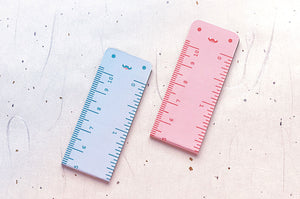 Cute Monster Rulers Magnetic Bookmarks