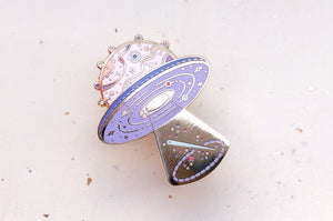 Space Crafter Enamel Pin