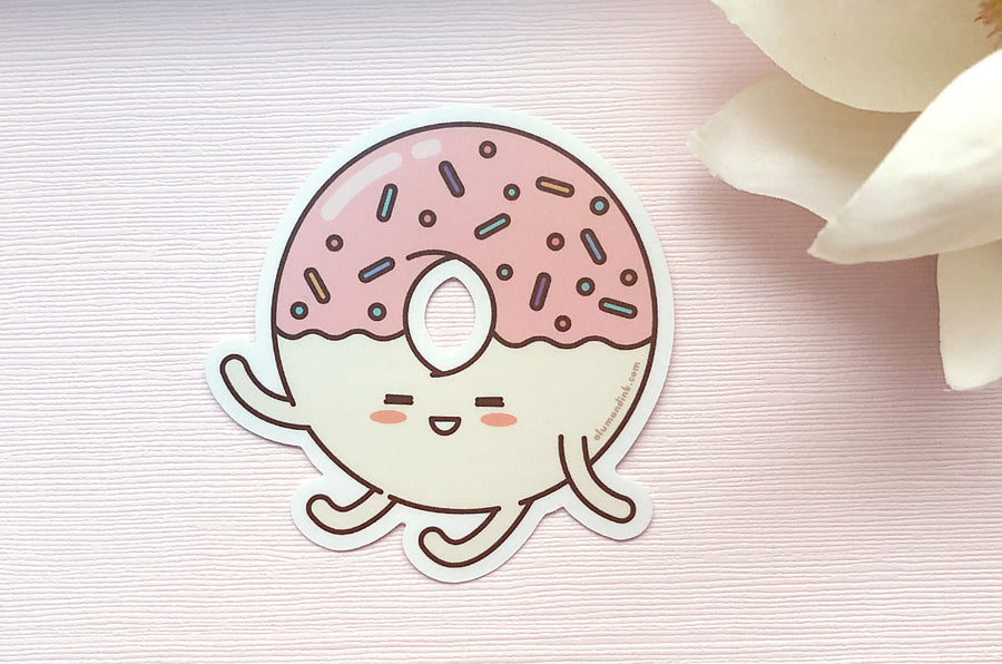 Sprinkles the Donut Vinyl Sticker