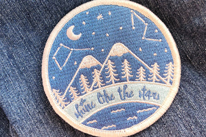 Starry Night Sky Embroidered Patch