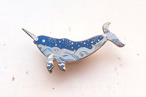 Starry Narwhal (Star Wanderer) Pin