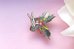 Stray Sod Fairy Enamel Pin