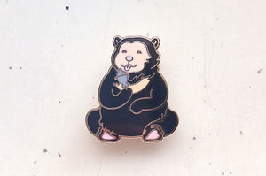 Sun Bear Enamel Pin