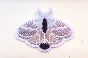 Tolype Moth Embroidered Patch