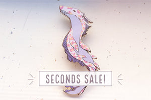 Whale Queen Enamel Pin (Seconds)