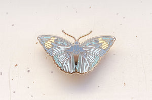 Widespread Forester Butterfly (Euphaedra medon) Enamel Pin