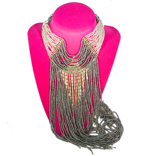 Beaded Gala Necklace - filthy-rich-vision