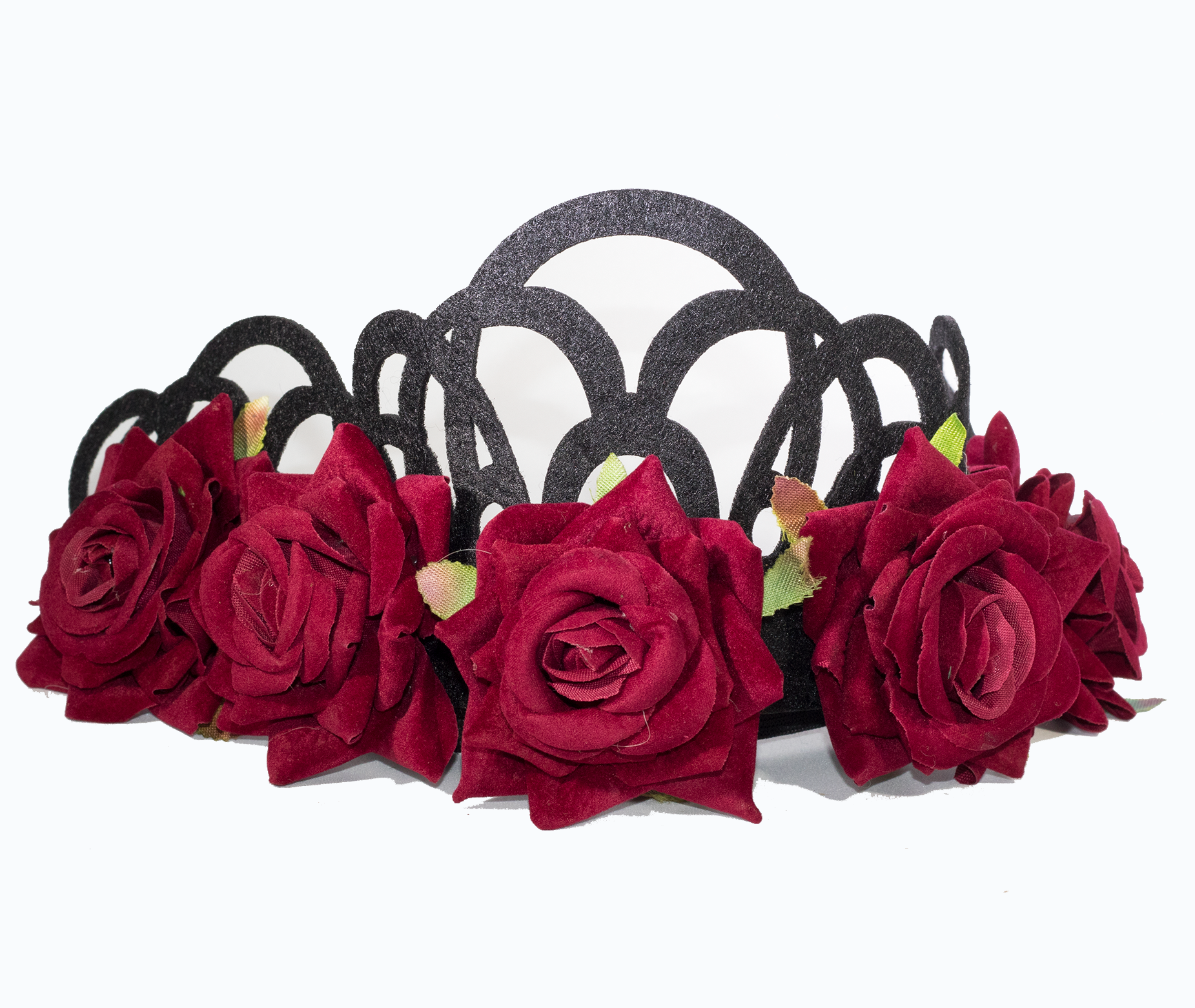 Bed of Roses Headpiece - filthy-rich-vision