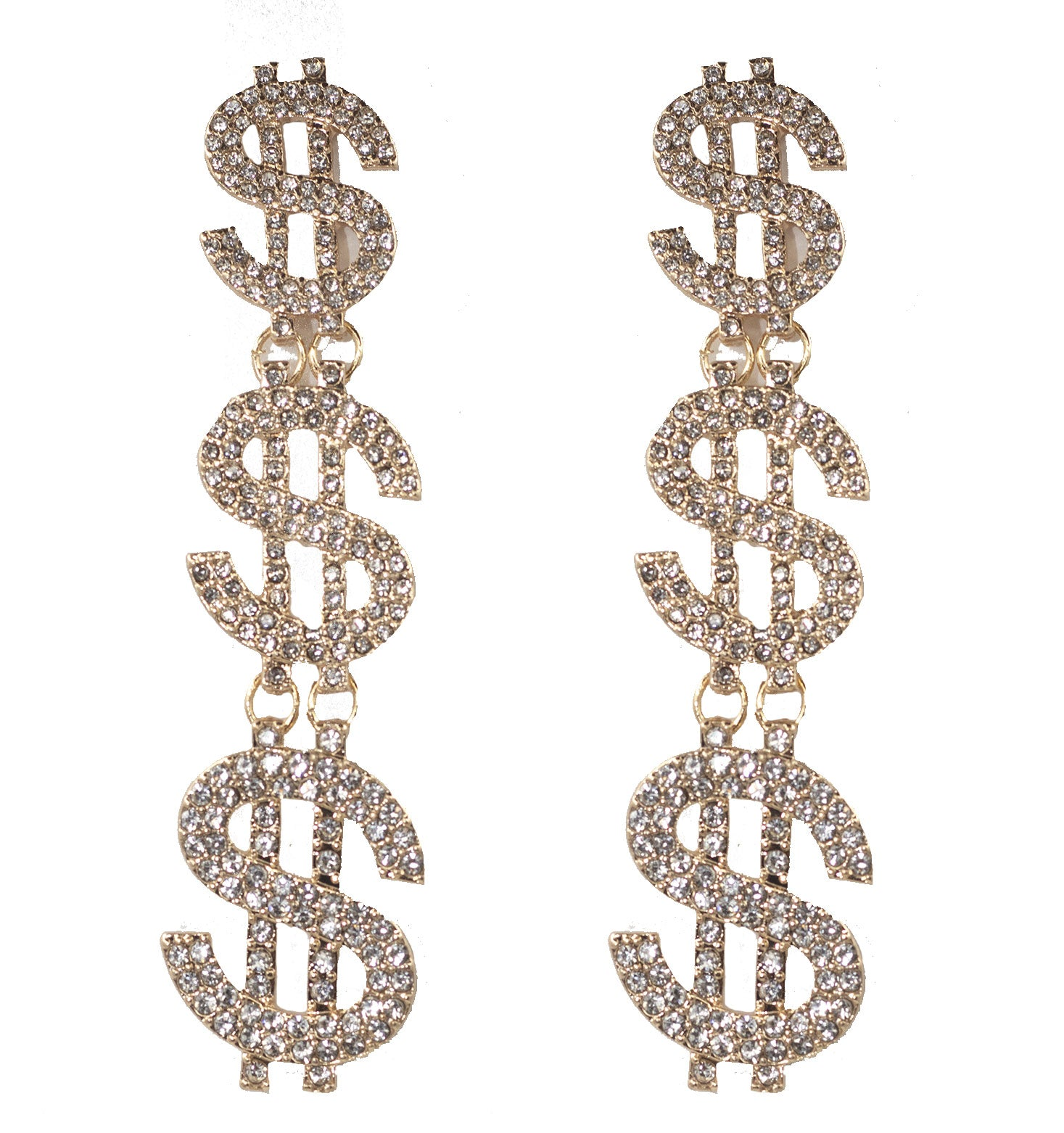 C Note Earrings - filthy-rich-vision
