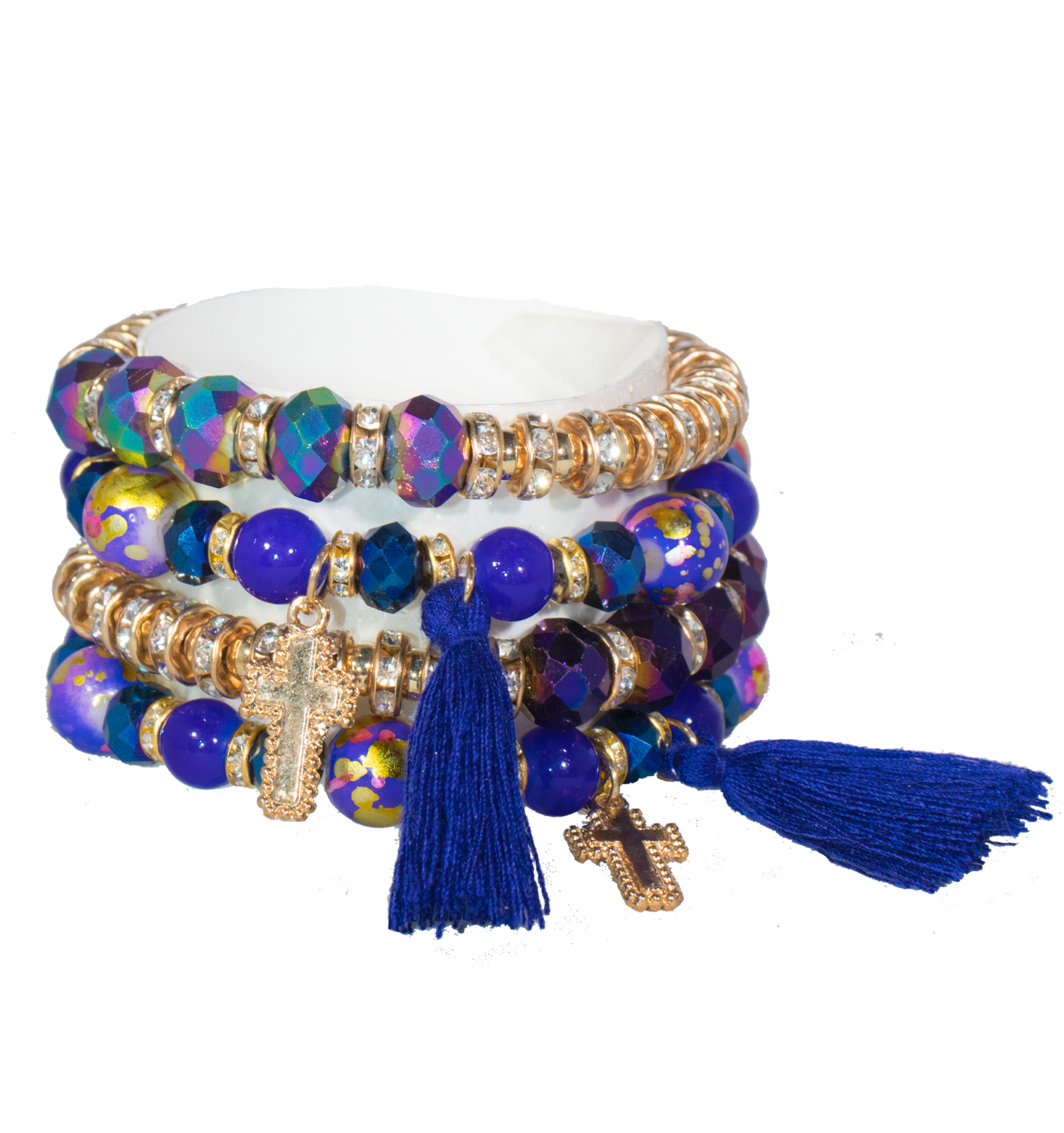 Cross Bracelet Set - filthy-rich-vision