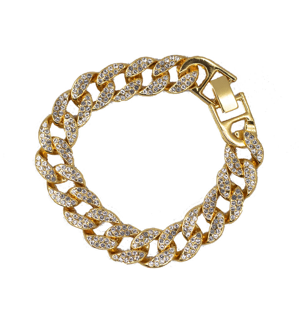 Ice Me Out Cuban Link Bracelet