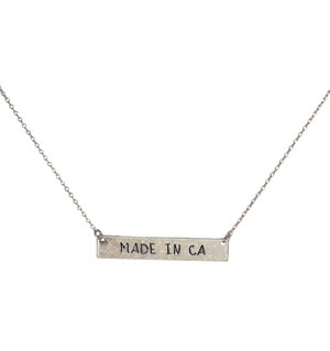 Made In CA Necklace - filthy-rich-vision